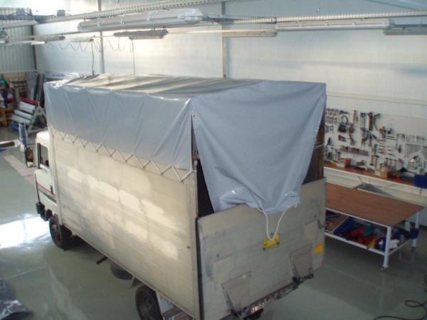 Aramaio toldoak trabajos realizados for Toldos para camiones